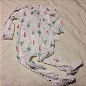 Carter's 4T Footed Pajamas, Fairies